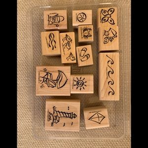 Stampin Up On the Beach Stamp Set